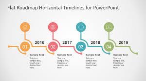Timeline Powerpoint Slide Flat Timelines Powerpoint Templates