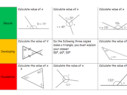 missing angles involving algebra ks3 gcse by onitmaths teaching resources tes