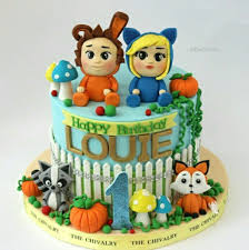 Dave And Ava Cake Designs Nursery Rhymes Dave And Avas Birthday Cake Dave Ava 2