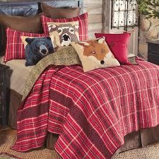 Red Mountain Lodge Plaid Quilt - Full/Queen &  Adamdwight.com