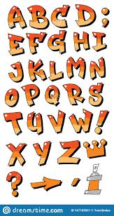 Letters In Design Vector Graffiti Fonts Letters Alphabet For Design Logos