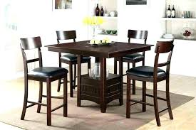 high table set high table dining set high top dining room table pub height chairs dining