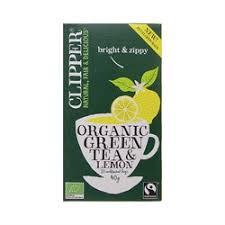 Зеленый органический <b>чай</b> с лимоном Clipper <b>organic</b> Green <b>Tea</b> ...