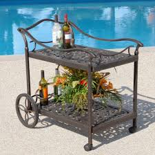 innovative patio serving cart amazing outdoor patio cart 2 outdoor patio serving cart house design suggestion