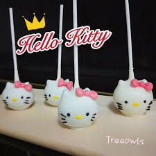 Hello Kitty Cake Pop Food Drinks Baked Goods On Carousell