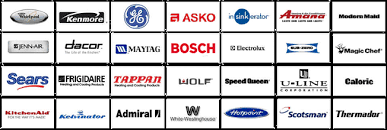 washer and dryer brands. List Of Major Appliance Brands We Service In Metro Atlanta Area To Washer And Dryer Mr Fix