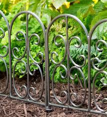 montebello iron garden edging