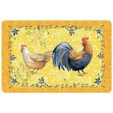new wave rooster gold 23 in x 36 in neoprene mat