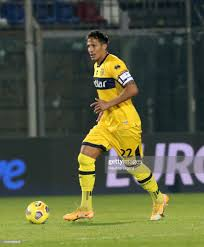 Bruno Alves of Parma during the Serie A match between FC Crotone and...  News Photo - Getty Images