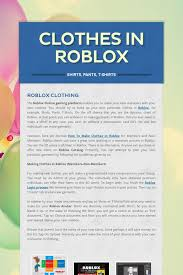 How To Make Clothes On Roblox Clothes In Roblox Clothes In Roblox Clothes Roblox Shirt Shirts