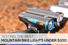 Best Mtb Bike Lights 2018 Testing The Best All In One Mountain Bike Lights For Under