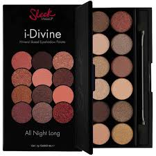 sleek makeup i divine palette 12 shades eyeshadow all night long us er