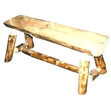 outdoor cedar storage bench outdoor deck storage bench log benches for cedar half 4 rustic