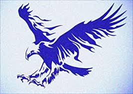 Free hockey printable stencils   red wings logo stencil. Amazon Com Eagle Stencils