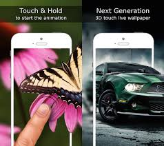 apply 3d touch live wallpapers