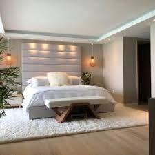 Modern wood floor designs Indoor Floor Tile Midsized Minimalist Master Light Wood Floor And White Floor Bedroom Photo In Miami With Devilsdeninfo 75 Most Popular Modern Bedroom Design Ideas For 2019 Stylish
