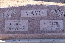 June Griffith Mayo (1921-2015) - Find A Grave Memorial