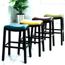 leather counter stools backless red leather backless bar stools backless leather counter stools