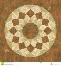 Wood Inlay Patterns Extraordinary Circular Wooden Pattern Fine Inlay Texture Stock Illustration