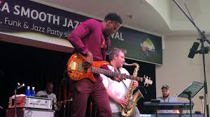 Julian Vaughn - Black Dynamite @ 8th Mallorca Smooth Jazz Festival - YouTube