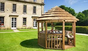 garden hut. Garden Gazebos Hut