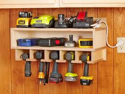11. Cordless Tool Station