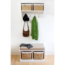 tetbury hallway coat rack and bench