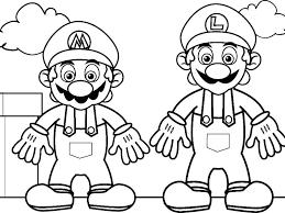 Free Printable Mario Coloring Pages Zatushokinfo