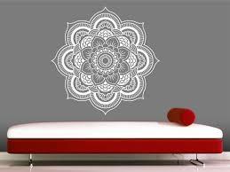 creative ideas mandala wall art interior designing home decal sticker yoga om namaste decor zoom australia on mandala wall art uk with valuable ideas mandala wall art home design no stencils youtube