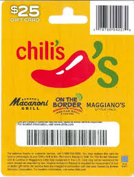 chilis customer service amazon com chilis gift card 25 gift cards