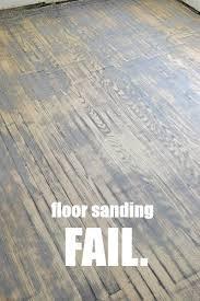 can i sand hardwood floors with a palm sander