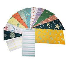 Form For Budgeting Cash Envelopes 12 Pack Money Envelopes For Cash With 12 Pcs