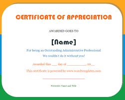 Fillable Certificates Certificates Fillable Certificate Of Appreciation New Sample