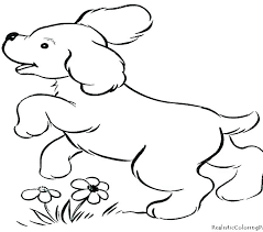 Prairie Dog Coloring Page Cute Printable Pictures Pages Free Dogs