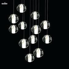 ball lighting fixtures hanging ball light fixtures magic ball crystal chandelier lights meteor modern lighting fixture
