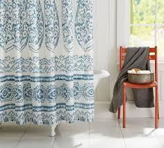 pottery barn shower curtains ideas