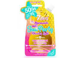 Купить VILENTA <b>7Days</b> Sun Party Солнцезащитный <b>крем для</b> ...