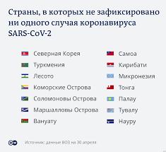 В каких странах не обнаружен коронавирус SARS-CoV-2 (инфографика) | События  в мире - оценки и прогнозы из Германии и Европы | DW