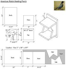 robin birdhouse plans awesome 156 best diy birdhouses images on