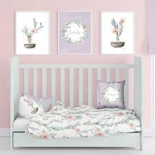personalized nursery art baby girl