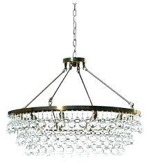 glass drop rectangular chandelier glass drop chandelier crystal black rectangular drops brass s s clarissa glass