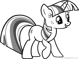 Small Picture My Little Pony Twilight Sparkle Coloring Pages Projektek amiket
