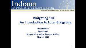 Form For Budgeting Dlgf Budget Forms Information