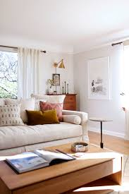 Neutral Living Room Wall Colors Our Sun Filled Living Room With Warm Woods And White Coco Kelley