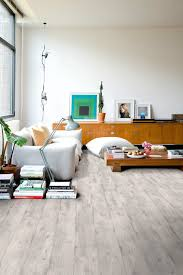 concrete wood light grey walls flooring by quick step