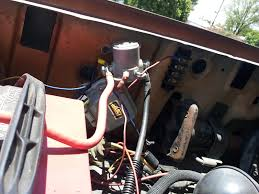 help starter solenoid wiring problem ford bronco forum here are the three wires i was talking about that aren t connected from what i gather the small push on is the black small one that should be connected