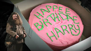 Hagrids Birthday Cake From Harry Potter Fiction Food Friday Youtube