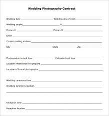 18 Photography Contract Templates Pdf Doc Free Premium Templates