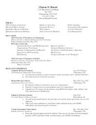 Medical Research Assistant Psychology Research Assistant Resume