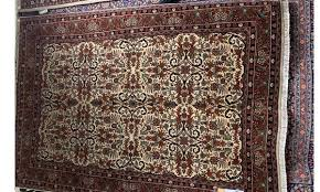 persian bidjar red multicolor hand knotted wool 6x9 rug the dump luxe furniture